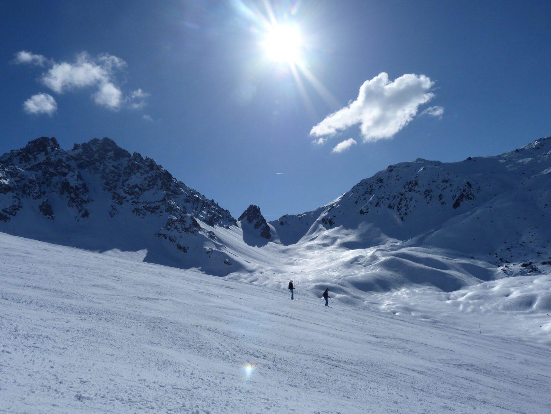 Domaine des 3 Vallées - Les skieurs