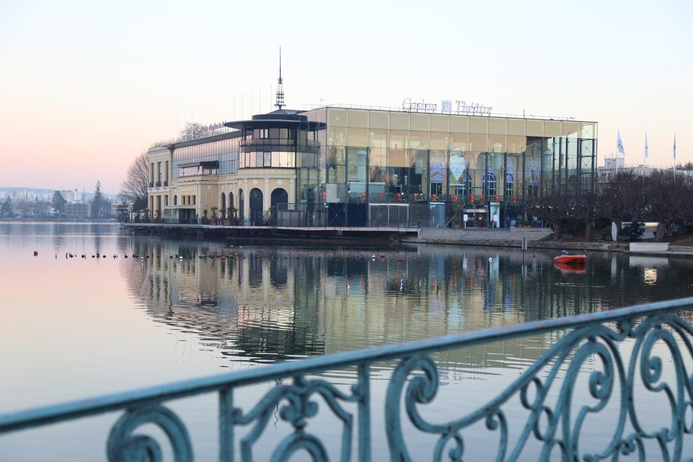 Enghien - Lac et Casino hiver 2016