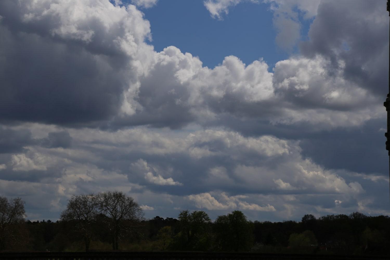 Effet de nuages en Val de Loire